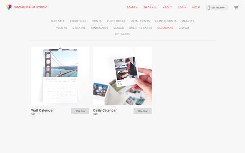 Calendars | Social Print Studio