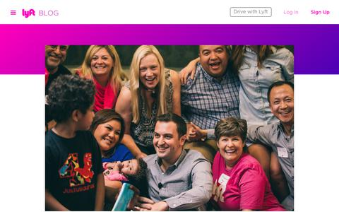 Screenshot of Blog lyft.com - Our Commitment to Always Treat You Better — Lyft Blog - captured Nov. 29, 2018