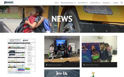 Screenshot of Press Page google.com - News - captured Oct. 31, 2018