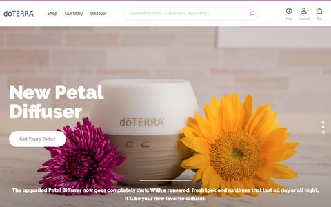 Screenshot of Login Page doterra.com - Essential Oils Pure and Natural | dōTERRA Essential Oils - captured June 28, 2019