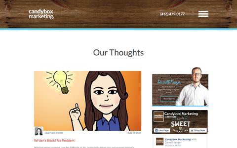 Blog | Candybox Marketing
