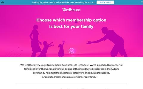 Screenshot of Signup Page birdhousehq.com - Birdhouse | Membership - captured Dec. 25, 2015