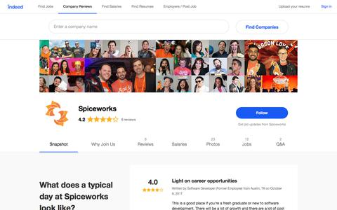 Spiceworks Careers and Employment | Indeed.com