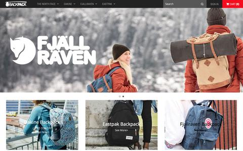 Screenshot of Home Page zippytots.co.uk - Shop online Outlet Eastpak backpack,Dakine backpack,The North Face backpack&Fjallraven Bags sale|UP TO 70% OFF - captured Oct. 31, 2018