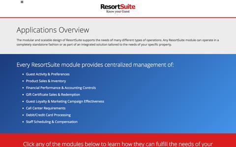Adaptable Resort & Hotel Management Software | ResortSuite