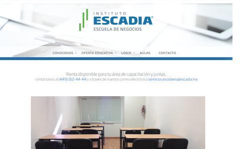 AULAS –  Escadia