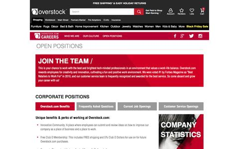 Careers at Overstock.com