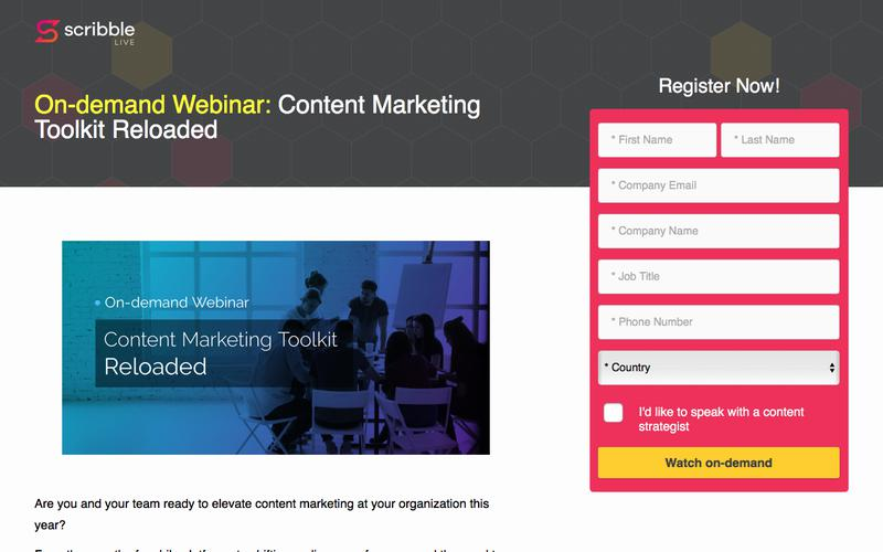 Content Marketing Toolkit Reloaded