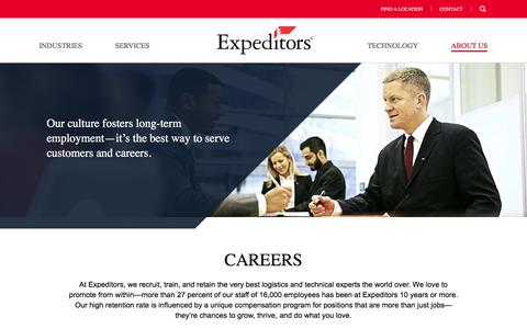 Join Our Team | Careers | Expeditors International of Washington, Inc.
