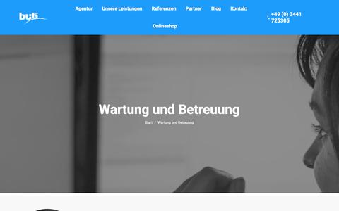 Screenshot of Support Page bui-hinsche.com - Support ✰ BuI Hinsche - captured Nov. 3, 2018