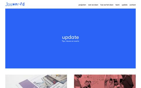 Screenshot of Blog josworld.org - update – Josworld - captured Nov. 14, 2018