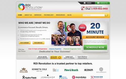 ROI Revolution - Retail-Focused Paid Search Management, PPC, Website Analytics