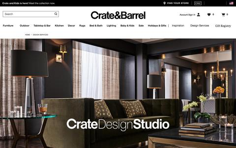 Interior Design | Crate and Barrel