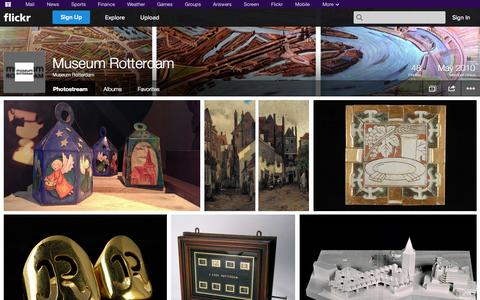 Screenshot of Flickr Page flickr.com - Flickr: Museum Rotterdam's Photostream - captured Oct. 22, 2014