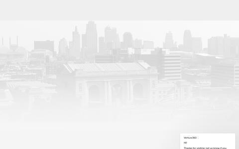 Screenshot of Login Page venture360.co - Sign In | Venture360 - captured Oct. 20, 2018