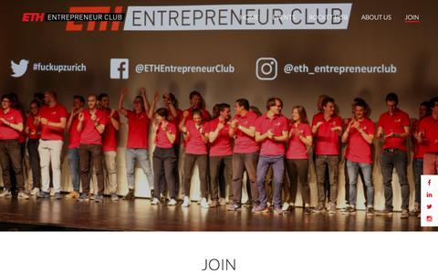 Screenshot of Signup Page entrepreneur-club.org - Entrepreneur Club  | Join - captured Sept. 26, 2018