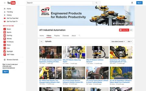 ATI Industrial Automation  - YouTube