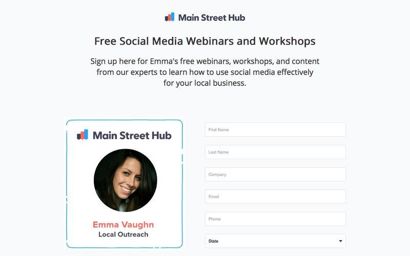 Social Media Content from Main Street Hub
