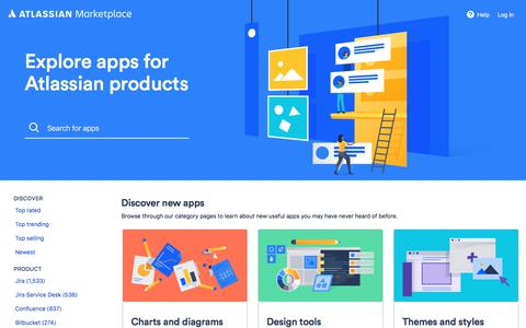 Explore apps for Atlassian products | Atlassian Marketplace