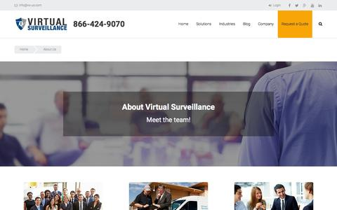Screenshot of About Page vs-us.com - About Us - Virtual Surveillance - captured Feb. 14, 2016