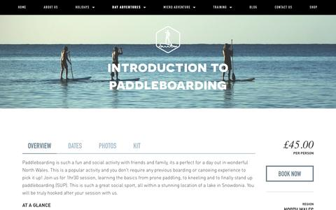 Introduction to paddleboarding — Psyched Adventures