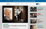 Old Screenshot Billy Graham Evangelistic Association Home Page