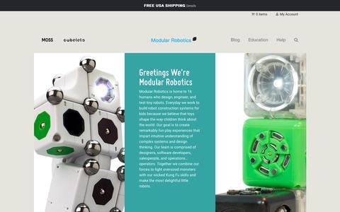 Screenshot of Team Page modrobotics.com - Team   Modular Robotics - captured June 25, 2017