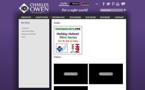 Screenshot of Press Page charlesowen.com - | Charles Owen & Co (Bow) Ltd - captured Oct. 28, 2014