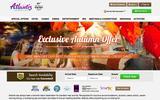 Old Screenshot Atlantis Casino Resort Spa Home Page