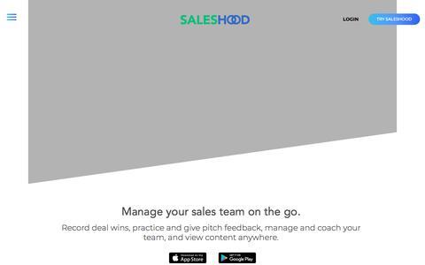 SalesHood - Sales Enablement App