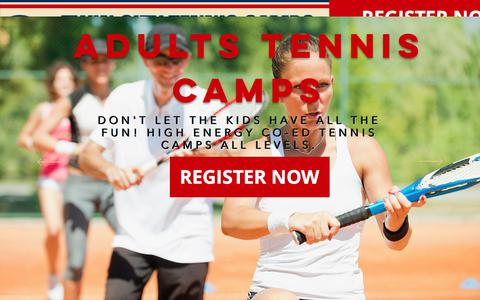 Screenshot of Home Page twincitytenniscamps.com - twincitytenniscamps - captured Oct. 17, 2017
