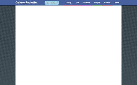 Screenshot of About Page galleryroulette.com - About - captured Oct. 30, 2014