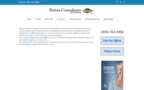 Trials Staff | Retina Consultants of Charleston
