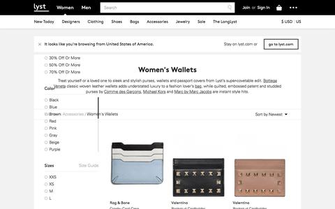 Wallets | Wristlets and Wallets for Women | Lyst