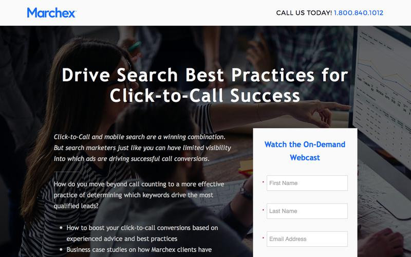 Marchex - Drive Search Best Practices for Click-to-Call Success