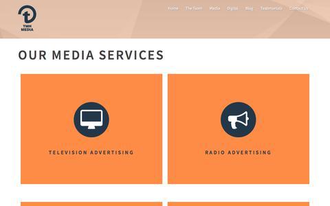Screenshot of Press Page tmhmedia.co.uk - Media - TMH Media - captured July 7, 2018