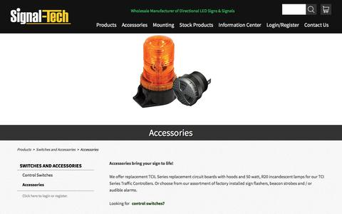 LED Light Engines | Incandescent Lamps | Sign Beacon Strobe | Sign Flasher | Sign Audible Alarm | Signal-Tech