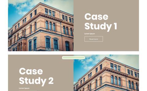 Screenshot of Case Studies Page jameselliottassociates.co.uk - Case Studies – James Elliott Associates - captured Nov. 14, 2018