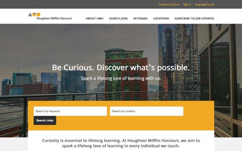 Careers at Houghton Mifflin Harcourt Publishing Company