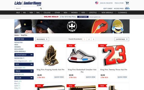 King Pins Hats, Caps, Apparel, Clothing | lids.com