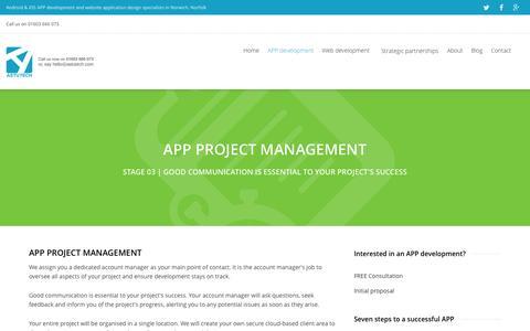 Screenshot of Team Page astutech.co.uk - APP Project Management for effective APP development, Norwich - captured Oct. 4, 2014