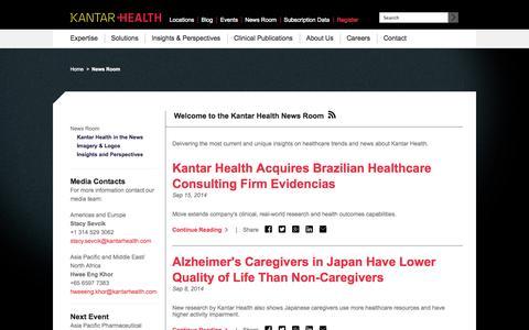 News and Press | Kantar Health
