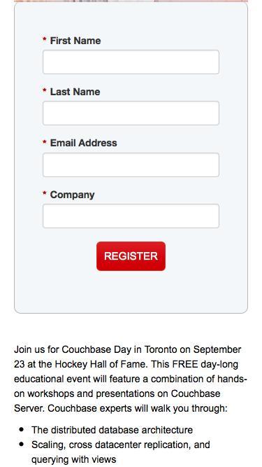 Couchbase Day Toronto