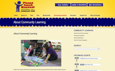 Screenshot of FAQ Page pleasetouchmuseum.org - Please Touch Children's Museum I Family Activities l Kids Parties - captured Sept. 30, 2014