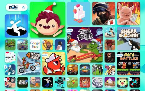 Screenshot of Home Page poki.com.br - JOGOS ONLINE GRÁTIS - Jogue os Melhores Jogos no Poki.com.br! - captured Dec. 14, 2018