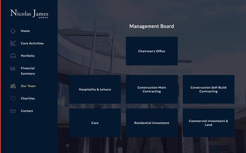 Screenshot of Team Page njg.co.uk - Divisions - Nicolas James Group - captured Nov. 16, 2018