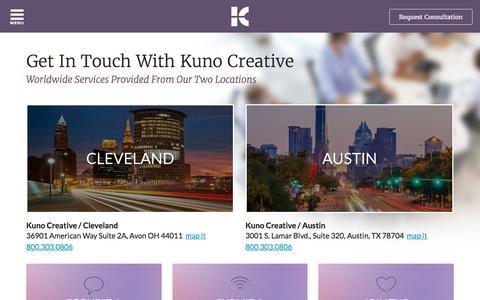 Contact Kuno Creative | Inbound Marketing agency