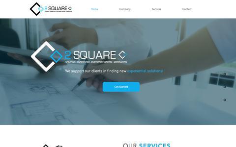 Screenshot of Home Page 2squarec.com - 2squarec - captured Nov. 6, 2017