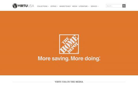 Screenshot of Press Page virtuusa.com - Media - Virtu USA - captured Aug. 13, 2016