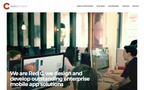 Mobile App Development Company - Red C, London, UK